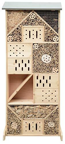 Gardigo Insektenhotel XXXL | Insektenhaus 120 cm groß aus Holz I Nistkasten...