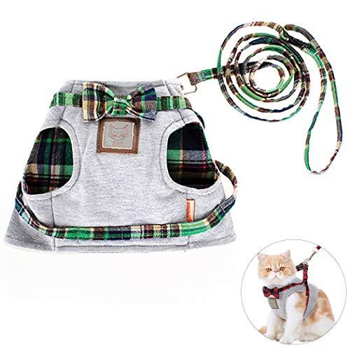 Legendog Katze Leine Harness Einstellbare Baumwolle Haustier Harness Haustier...