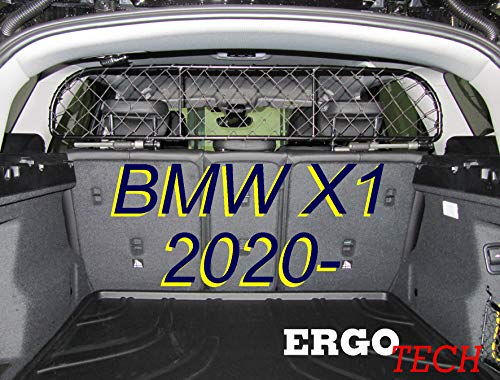ERGOTECH Trennnetz/Hundenetz RDA65-XS16 kbm027, für Hunde und Gepäck. Sicher,...