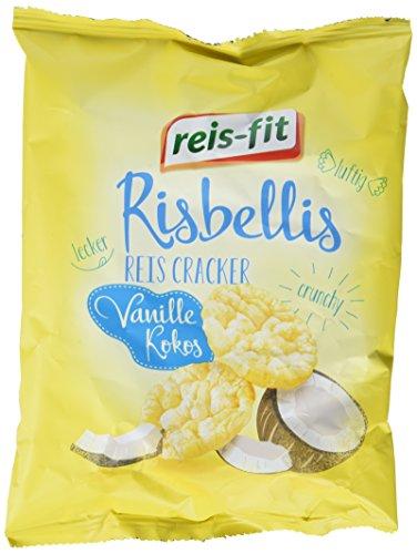 reis-fit Risbellis Reis Cracker Vanille & Kokos , 40 g