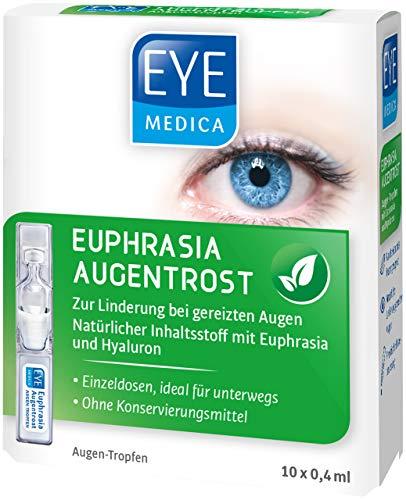 EyeMedica Euphrasia Augentrost, Euphrasia Augentropfen mit Hyaluron, zur...