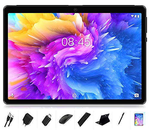 Tablet 10 Zoll Android 10, MEBERRY 8 Core Prozessor Ultraschneller Tablet PC mit...