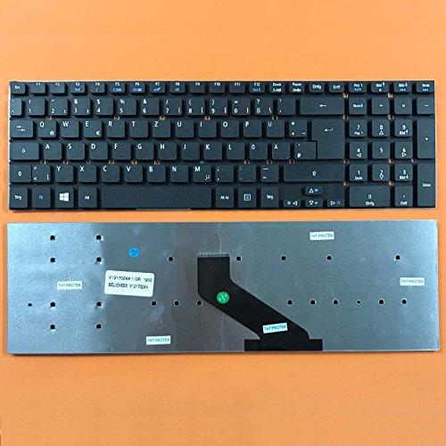 kompatibel für Acer Aspire E5-771 Tastatur Farbe: schwarz - Ohne Beleuchtung,...