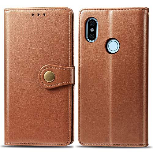 Keteen Redmi Note 5 Pro Handyhülle Premium PU Leder Tasche Flip Wallet Cover...