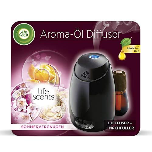 Air Wick Aroma-Öl Diffuser – Starter Set mit Diffuser und Duft-Flakon –...