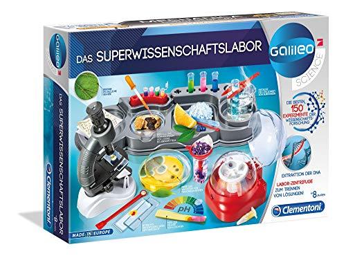 Clementoni 59083 Galileo Science – Das Superwissenschaftslabor, 150 spannende...