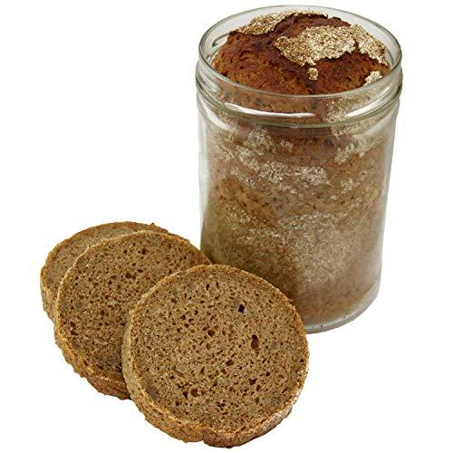 Emmer-Urkorn-Dinkel Brot im Glas 850ml (15,56 € / kg) - Geschenk