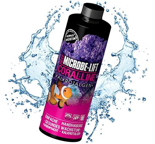 MICROBE-LIFT Coralline – schnelles Wachstum von Kalkrotlagen im Aquarium, 236...
