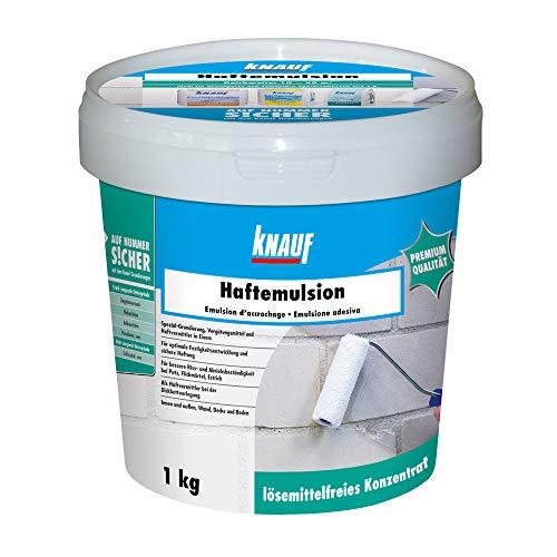 Knauf Haft-Emulsion für Innen- und Außen-Bereich, 1 kg –...