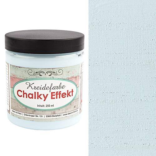 Ideen mit Herz Chalky Effekt Kreidefarbe, 250ml | hochdeckend | ultramatt | auf...