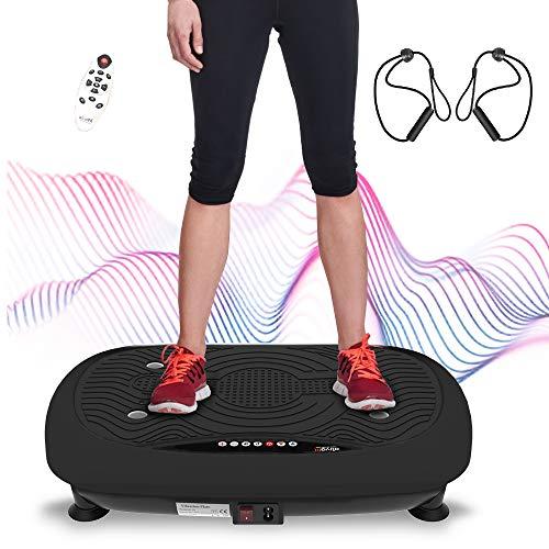 ATIVAFIT Fitness Vibrationsplatte mit Ultraflache Vibration Shaper Platte mit...