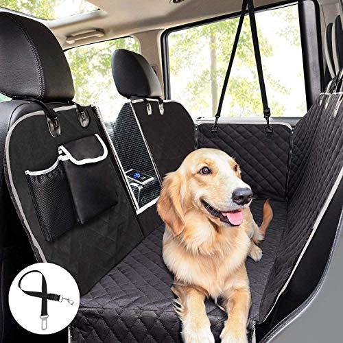 Pecute Hundedecke für Auto Rückbank Kofferraumdecke für Hunde Hand...