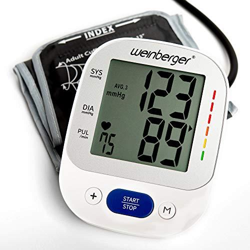 Weinberger 02273 Oberarm Blutdruckmessgerät großem Display, Speicher und...