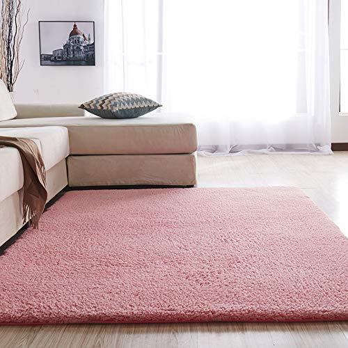 IYSI Shaggy-Teppich | Flauschiger Hochflor Fürs Wohnzimmer, Schlafzimmer Oder...