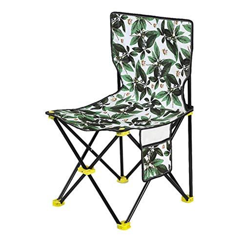 YQQ-Hocker Grillstuhl Im Freien Camping Hocker Tragbar Leicht Material...
