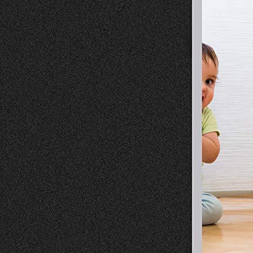 Rwest X Fensterfolie Selbsthaftend Blickdicht Sichtschutzfolie Fenster...
