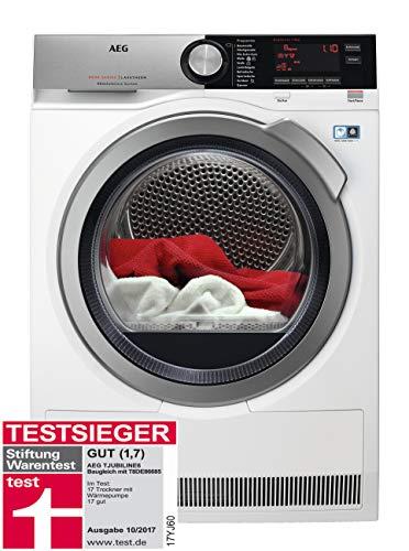 AEG TJUBILINE6 Wärmepumpentrockner / AbsoluteCare: Wolle-Seide-Outdoor trocknen...