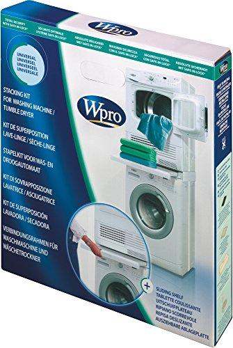 Wpro SKS101 Verbindungsrahmen Waschmaschine/Trockner Säule ORIGINAL Bauknecht...