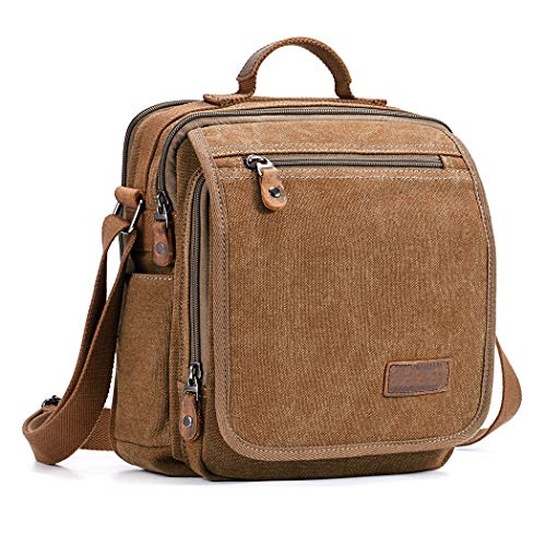Fanspack Canvas Umhängetasche Handtasche Herren Schultertasche Business Tasche...