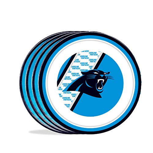 Duck House Teller, Motiv: Entenhaus NFL Carolina Panther, 25 cm, Melamin,...