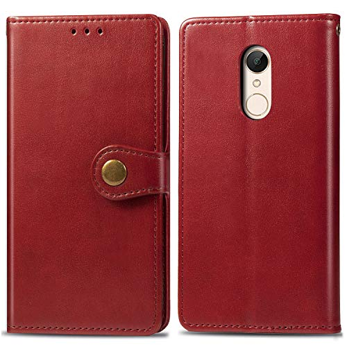Keteen Xiaomi Redmi 5 Plus Handyhülle Premium PU Leder Tasche Flip Wallet Cover...