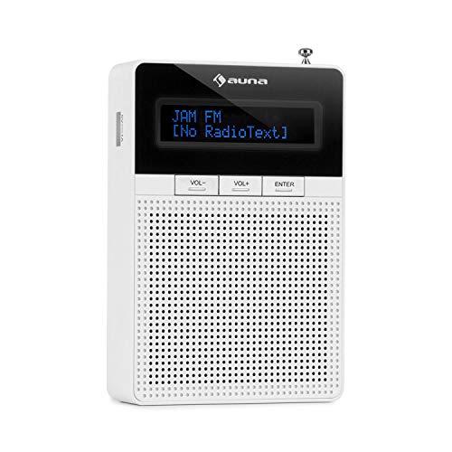 auna DigiPlug FM - Steckdosen-Radio, Radio mit RDS, UKW/PLL Tuner, Bluetooth,...