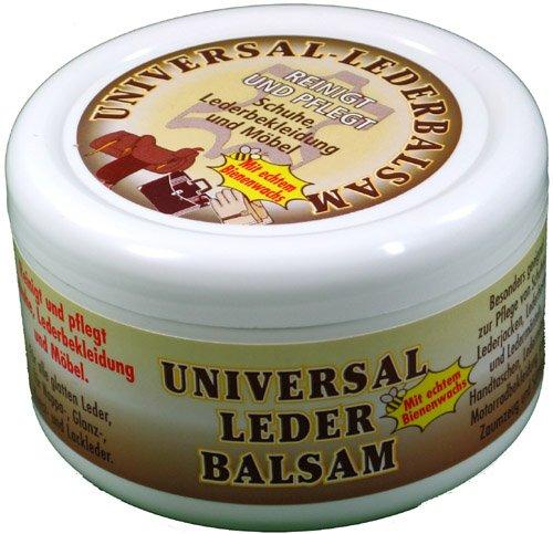 Universal Lederbalsam 250ml mit echtem Bienenwachs zur Pflege und Reinigung von...