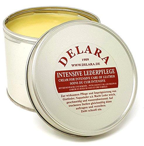 DELARA Intensive Lederpflege, farblos, 500 ml - Imprägniert und schützt Leder...