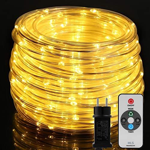 20M Lichterschlauch, OxyLED 300 LED Lichtschlauch IP65 Wasserfest, Lichterkette...