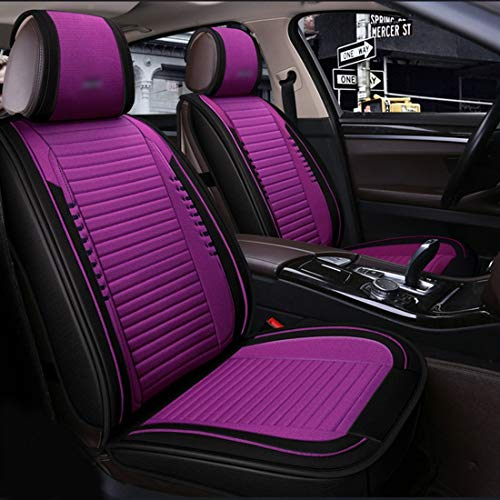 ZJIAWEI Auto-Sitzabdeckung, Full Set Air Bag Kompatible Autositzkissen...