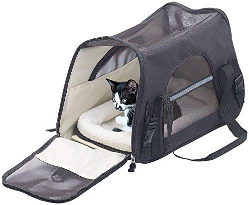 Sweetypet Hundetasche: Hand- & Auto-Transporttasche für Haustiere bis 8 kg,...
