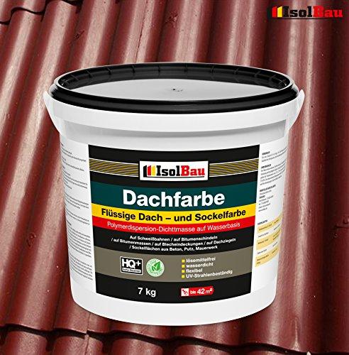 Dachfarbe Sockelfarbe Dachbeschichtung Dachlack Dachsanierung Polymermembran 7...