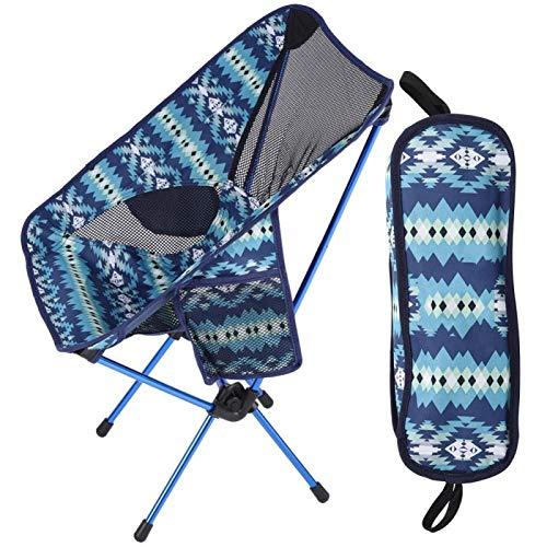 Pwshymi Camping Stuhl Klappbare Rückenlehne Stuhl Rückenlehne zum Angeln