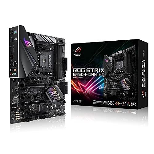 Asus ROG Strix B450-F Gaming Mainboard Sockel AM4 (ATX, AMD B450, DDR4 Speicher,...