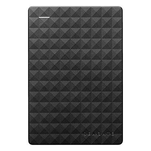 Seagate Expansion Portable, tragbare externe Festplatte, 2 TB, 2.5 Zoll, USB...