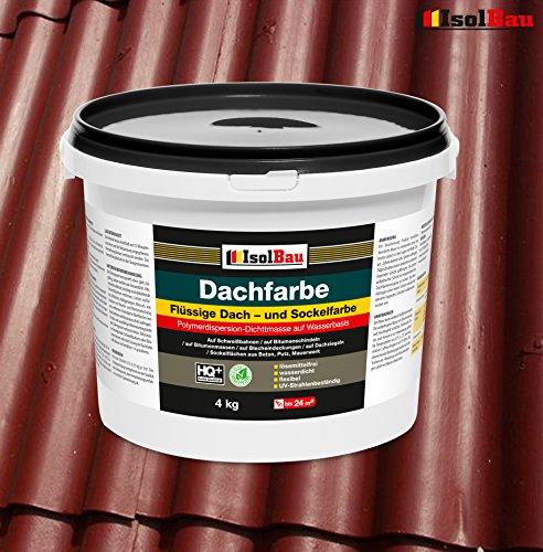 Dachfarbe Sockelfarbe Dachbeschichtung Dachlack Dachsanierung Polymermembran 4...