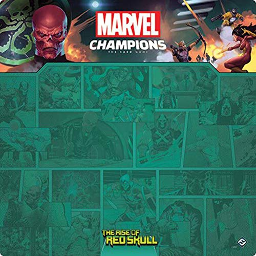 Fantasy Flight Games - Marvel Champions: Game Mat: The Rise of Red Skull -...
