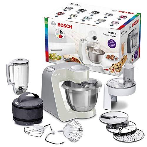 Bosch MUM5 CreationLine Küchenmaschine MUM58L20, Testsieger, vielseitig...
