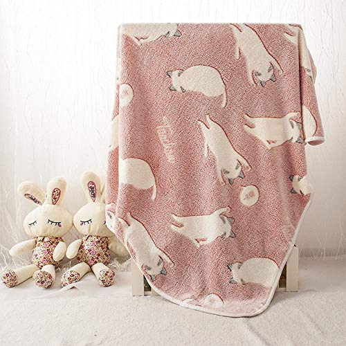 BAOLH Pet Decke, verdickte Cat_Mat Cute Pet Quilt Warm Hundedecke Weiches...