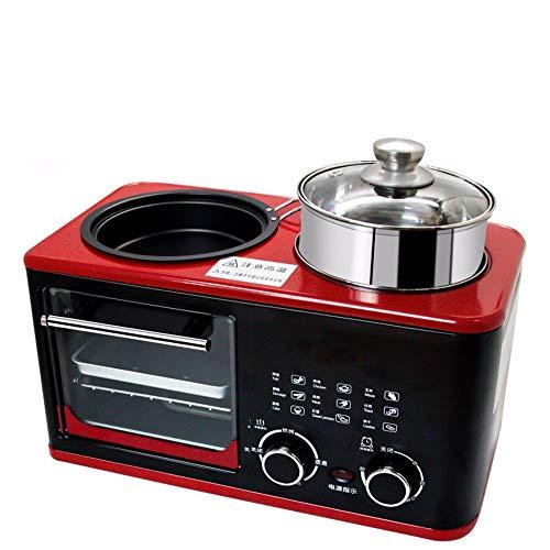 SLFPOASM Kleine Multifunktions-Sandwich-Toaster-FrüHstüCksmaschine,Braten,...
