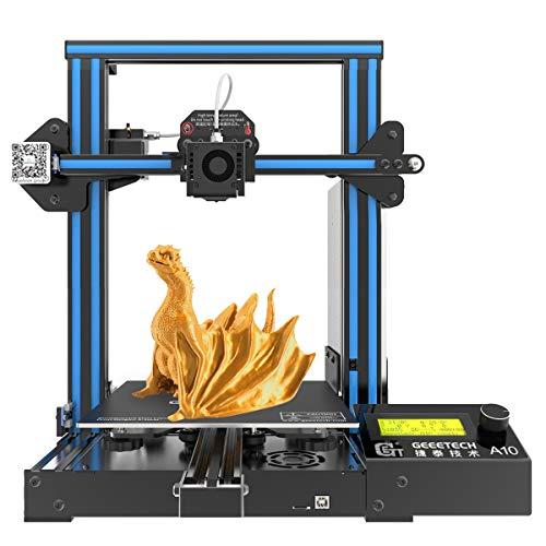 GEEETECH A10 3D Drucker, Aluminium Prusa I3 Typ, Schnelle Montage DIY Kit mit...