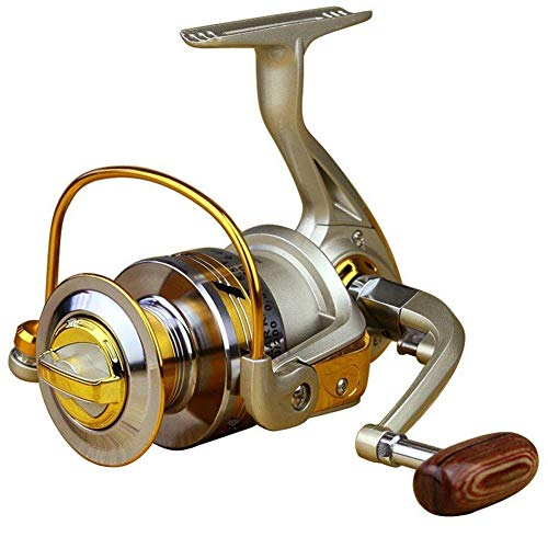 Dosige Angelrolle Rolle Stationärrolle Spinning Reel Vollmetall Aluminium...