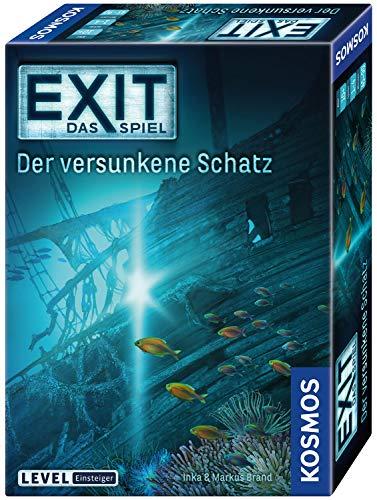 Kosmos 694050 - EXIT - Das Spiel - Der versunkene Schatz, Level: Einsteiger,...