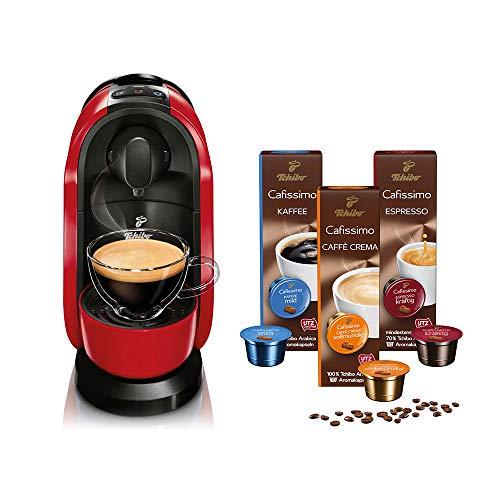 Tchibo Cafissimo Pure Kapselmaschine (für Kaffee, Espresso, Caffé Crema und...