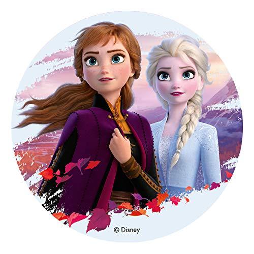 Dekora - 114383 Disney Die Eiskönigin Tortenaufleger aus Esspapier|aus...
