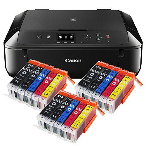Canon Pixma MG5750 MG-5750 All-in-One Farbtintenstrahl-Multifunktionsgerät...