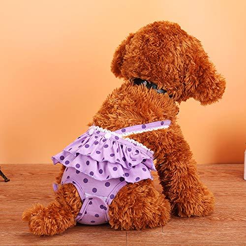 MYYXGS Hund Physiologische Hose Haustier Physiologische Hose Teddy Hund...