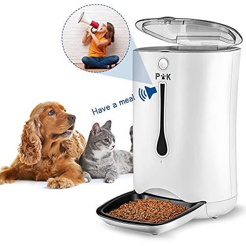 PUPPY KITTY 7L Automatischer Futterautomat für Katze und Hund, Automatischer...