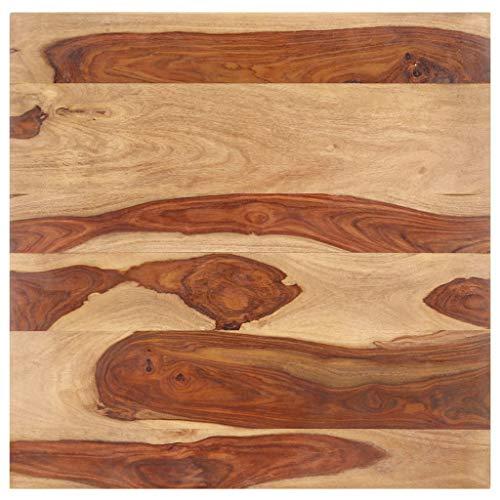 UnfadeMemory Tischplatte Rechteckige Holztischplatte Palisander-Massivholz DIY...