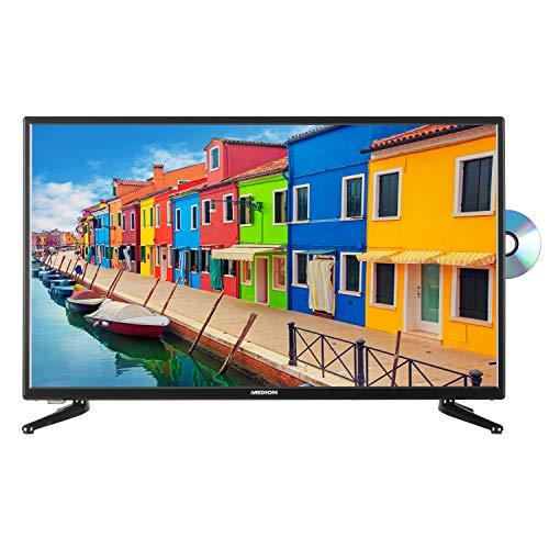 MEDION E13200 80 cm (31,5 Zoll) HD Fernseher (HD Triple Tuner, DVB-T2 HD,...